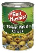 Beit Hashita Green Pitted Olives 19 oz